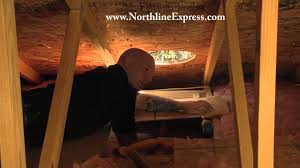 how to build an attic insulation shield or chase for your chimney