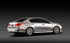 Acura Rlx Hybrid Release Date 2013 Acura Rlx Concept Rear Right Side View