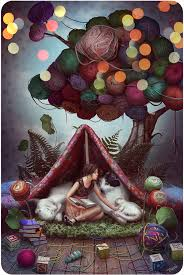 fairytale about a yarn tree by watersell on deviantart
