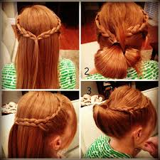 How To Make Easy Hairstyles At Home by How To Make A Sea Shell Flip Bun Hair Tutorial