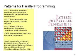 pattern language of program design design patterns for parallel programming ppt download