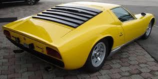 lamborghini miura p400 cars cars
