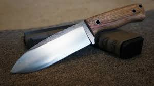 high carbon kitchen knives knifemaking a 1084 high carbon steel bush craft knife