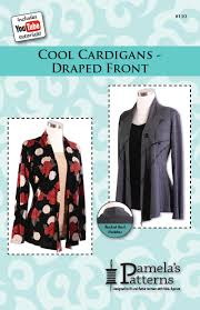 Drape Cardigan Pattern 110 Cool Cardigans Draped Front Pamela U0027s Patterns