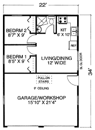 house plans with basement apartments traditional style house plan 2 beds 1 baths 396 sq ft plan 302
