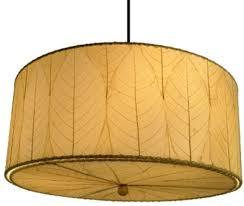 Drum Pendant Light Natural Cocoa Leaf Drum Pendant Light Plug In Lamp Shade Pro