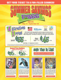 summer savings pass 4 great attractions for 1 price
