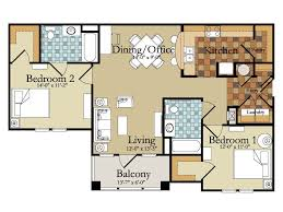 bedroom 56 nice floor plan 2 bedroom apartment for classic