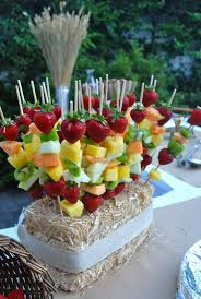 plastic skewers for fruit arrangements 117 best fruits display images on desserts food and