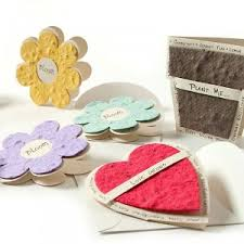seed paper wedding favors plantable seed paper american