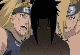 sasuke vs sasuke vs deidara 2 by saharah18 on deviantart