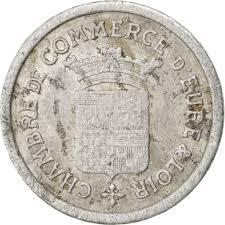 chambre de commerce de l eure 85549 eure et loir chambre de commerce 5 centimes 1922 elie 10 1