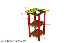 Wooden Bar Table Wooden Bar Table Plans Myoutdoorplans Free Woodworking Plans
