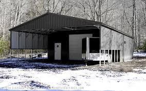 Attached Carports Metal Buildings Garages Carports U0026 Barns Elephant Structures