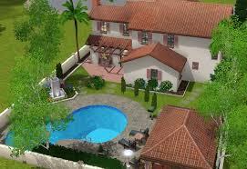 mod the sims spanish suburban