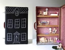 Upcycle That - suitcase dollhouse upcycle that