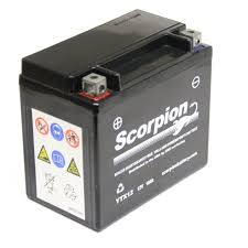 ytx12 bs battery scorpion 12 volt motorcycle batteries