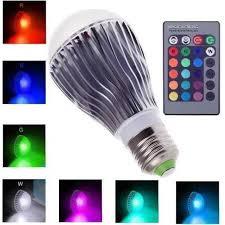 16 colors changing 9w magic e27 rgb led lamp light bulb ir