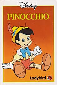 pinocchio ladybird book walt disney gloss hardback