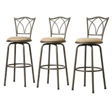 Home Decorators Collection Bar Stools Modern Bar Stools Home Depot Stackable Metal Stool In Silver Set