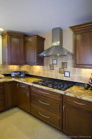 Dark Walnut Kitchen Cabinets by Pictures Of Kitchens Traditional Dark Wood Walnut Color