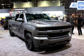 chevy concept truck silverado performance concept with 450 hp leads chevy u0027s sema