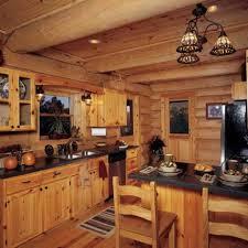 birch wood cordovan shaker door log cabin kitchen cabinets