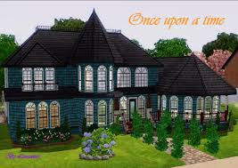 queen anne victorian mod the sims once upon a time a queen anne victorian house