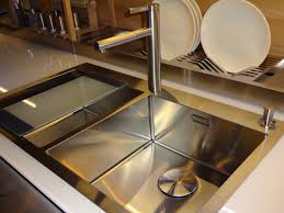 blanco steelart precision microedge sink and linee faucet at