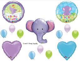 purple elephant baby shower decorations baby boy purple elephant baby shower balloons