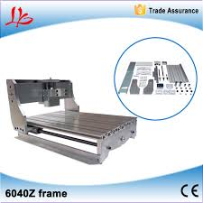 cnc 6040 lathe bed frame parts with high precision ball for