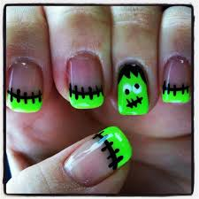 27 halloween nail art ideas for a cute but creepy mani