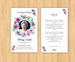 funeral prayer cards template prayer cards for funerals template funeral program set 4