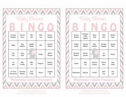 elephant baby shower game download for baby bingo