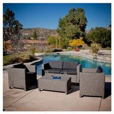 Patio Furniture Long Beach by Best 25 Wicker Patio Furniture Ideas On Pinterest Grey Basement