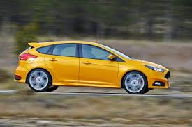 which corner does a st go on ford focus st hatchback auto express