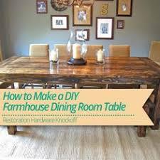 Holy Cannoli We Built A Farmhouse Dining Room Table Diy - Diy dining room tables