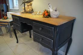 petit bureau ancien coiffeuse style louis xv patinée à l ancienne relooking meubles