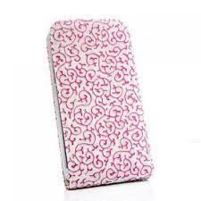 schutzhã lle designen flip handy tasche samsung n7100 galaxy note 2 weiss pink