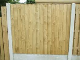 Types Of Fencing For Gardens - timber panels u0026 garden fencing for sale wicklow picket fencing
