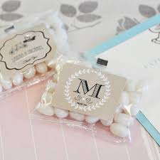 vintage wedding favors vintage wedding personalized jelly bean packs candy wedding
