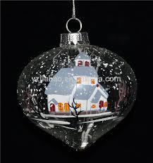 wholesale clear glass ornaments bulk wholesale clear glass