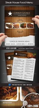 flyer menu template steak house menu flyer www moderngentz your template