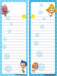 219 bubble guppies printables images guppy