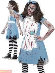 Young Girls Halloween Costumes Teen Girls Halloween Costume Zombie Alice Costume Tea Party