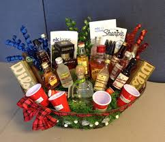 liquor gift baskets golf themed liquor basket my creations liquor