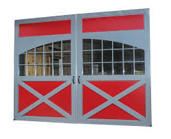 Red Barn Doors by Sliding Barn Doors Triad Building Components