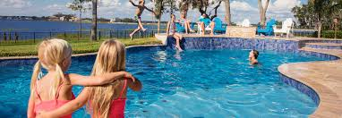 Biggest Backyard Pool by Pool Builder Orlando Pool Company Sanford The Villages Pool