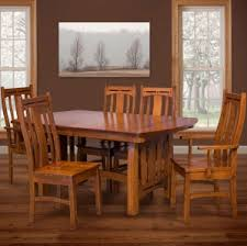 Amish Dining Tables Boulder Creek Amish Dining Table Set U2013 Amish Furniture