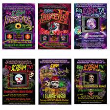 reality halloween video bigscreamtv combo pack 6 videos